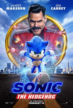 Sonic The Hedgehog - Plakat zum Film