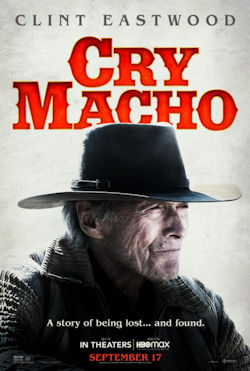 Cry Macho - Plakat zum Film