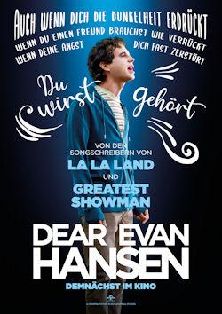 Dear Evan Hansen - Plakat zum Film