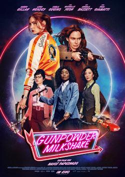 Gunpowder Milkshake - Plakat zum Film
