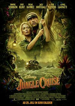 Jungle Cruise - Plakat zum Film