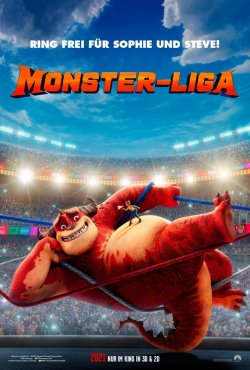 Rumble - Winne rockt die Monster-Liga - Plakat zum Film