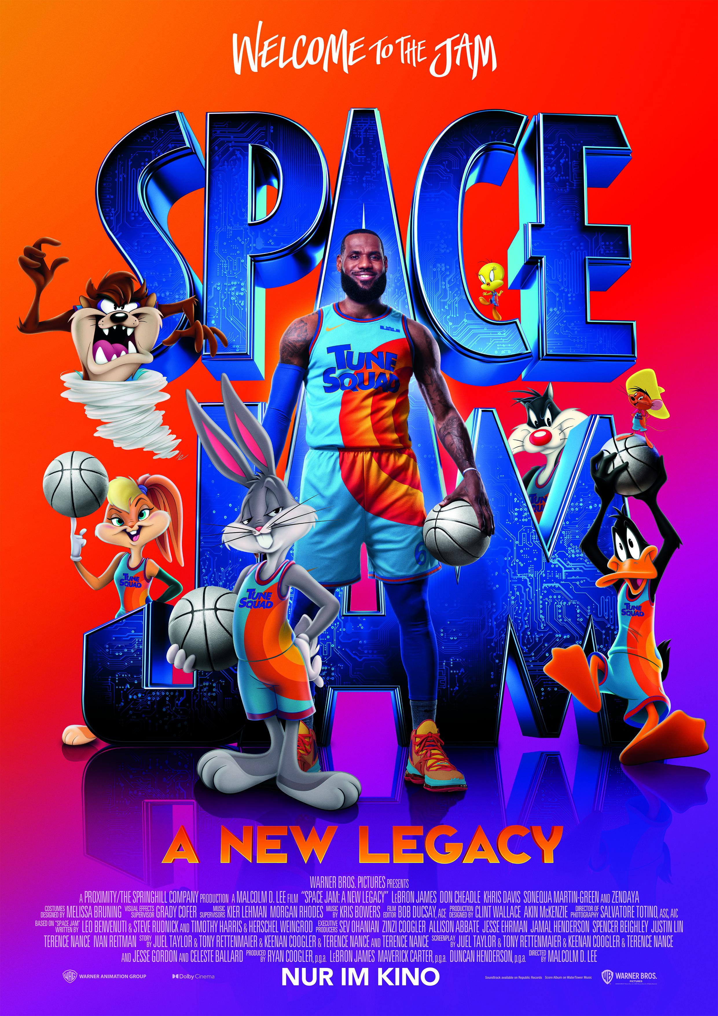 Space Jam - A New Legacy - Plakat zum Film