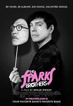 The Sparks Brothers - Plakat zum Film