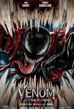 Venom - Let There Be Carnage - Plakat zum Film